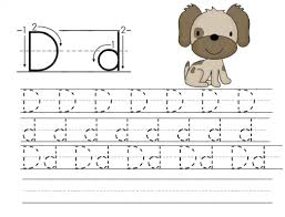 letters to print and trace trace letter d worksheets activity shelter