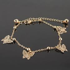 accessories designer butterfly anklet bracelet fashion