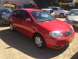 2001 toyota corolla ascent seca zze122r 5d hatchback for sale in