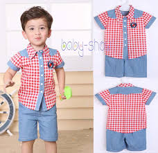 baby boys summer clothing suits kids boy clothes set children 2pcs