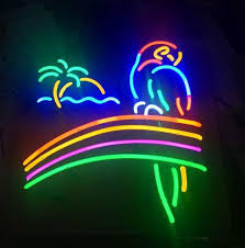 palm tree neon light parrot palm tree railbow beer neon sign for sale hanto neon sign