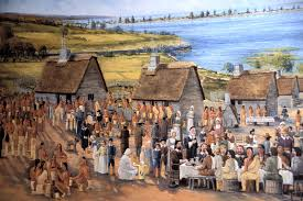 settlement a puritan new thanksgiving