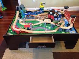 imaginarium classic train table with roundhouse imaginarium train tables for best table decoration