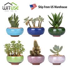 Glazed Ceramic Pots Online Get Cheap Glazed Ceramic Flower Pots Aliexpress Com
