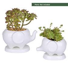 animal planters amazon com pots pots planters u0026 container accessories patio