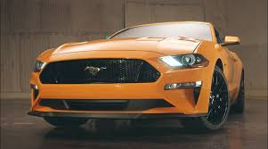 mustangs the rock 2018 mustang refresh released 2018 mustang photos cj pony parts