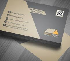 modern real estate business cards templates free templates