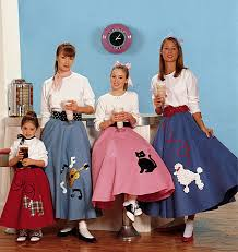 50s Halloween Costumes Poodle Skirts Mccall Pattern 6101 3 6yrs 50s Skirt Designs Poodle Skirt