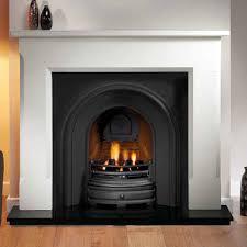 artisan harlington black arched cast iron fireplace artisan