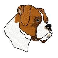 boxer dog xmas dog boxer clipart clipartfest