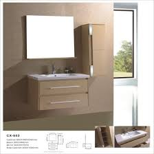 bathroom vanity with side cabinet china wall mounted mdf bathroom cabinets with side cabinet and