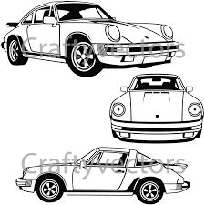logo porsche vector porsche carrera 1984 vector svg cut file