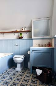 new orleans free standing toilet powder room victorian with