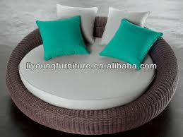 canape rond exterieur nouveau design extérieur canapé rond en rotin lit lg623991 image