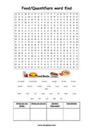 food and drinks english vocabulary printable worksheets