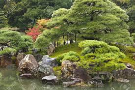 japanese zen gardens traditional japanese zen garden in kyoto japan stock photo