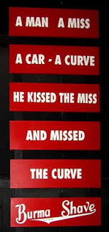 Burma Shave Meme - ivman s blague one french professor s humorous and serious