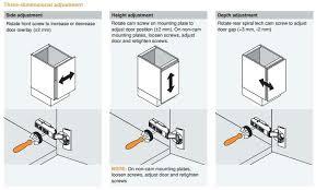Adjusting Cabinet Doors How To Adjust Cabinet Hinges Unispa Club