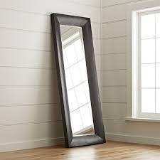Crate And Barrel Floor Lamps Maxx Black Floor Mirror Crate And Barrel