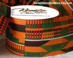 cloth ribbon kente cloth ribbon etsy
