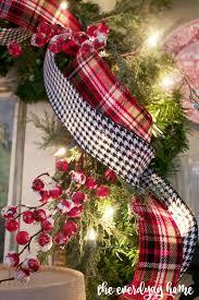 houndstooth home decor blog u0027s 2015 christmas home tour room tour and christmas decor