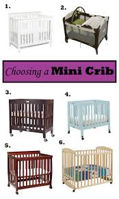 Folding Mini Crib by Choosing A Mini Crib Little Fish