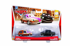 amazon com disney pixar cars 2013 lemons tubbs pacer with paint