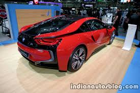 matte bmw i8 bmw i8 protonic red thai motor expo live