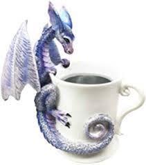 Dragon Coffee Cup Amazon Com Amy Brown Sweet Addictions Good Morning Pet Dragon