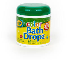 Crayola Bathroom Decor Amazon Com Crayola Color Bath Dropz 3 59 Ounce 60 Tablets Toys