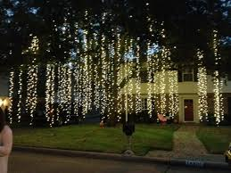 How To Decorate Outdoor Trees With Lights - 288 best christmas lights u0026 outside decor images on pinterest