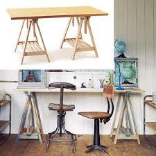 Ikea Sawhorse Desk 33 Best Desk Ideas Images On Pinterest Desk Ideas Office Spaces