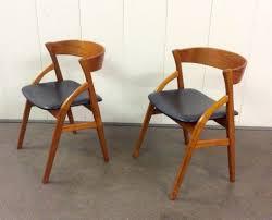 Danish Chairs Uk Mid Twentieth Century Design Pair Of Danish Chairs Chairs