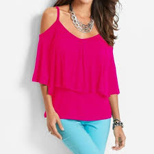 strapless blouse blouse cold shoulder chiffon shirts strapless