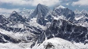 Himalayan Mountains Map Nepal