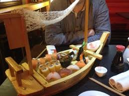 chef s special sushi boat picture of sushi bar made in