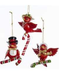 special 1 set 3 assorted resin bird ornaments