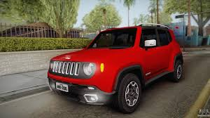 red jeep renegade 2016 jeep renegade 2017 for gta san andreas