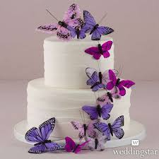 butterfly cake beautiful butterfly cake decorations set purple wedding