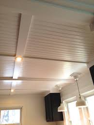great way to cover up ugly textured ceilings for the home