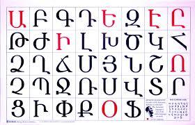 armenian alphabet coloring pages armenian alphabet shirak did you know pinterest armenian