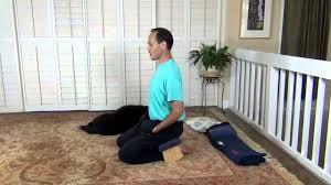 using a meditation bench youtube