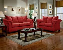 Red Loveseat Affordable Furniture Sensations Red Brick Sofa U0026 Loveseat Set 6700