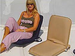 yachtsofstuff com boat deck seat poratble folding cushion