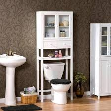 Cherry Bathroom Storage Cabinet by Over The Toilet Shelving Bathroom Over The Toilet Storage Ideas