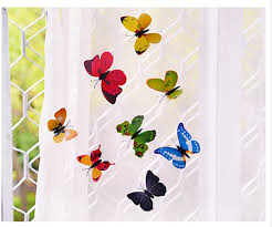 5d stickers room decor dimensional chipboard stickers butterfly picture of real product