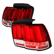 2004 mustang sequential lights mustang taillight with led sequential turn signals 2015 style pair