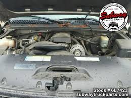 used parts 2000 chevrolet silverado 1500 5 3l lm7 4x4 subway
