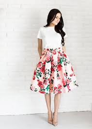 summer skirts best 25 floral skirts ideas on floral skirt