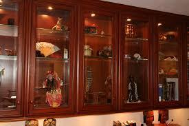 birch wood dark roast madison door kitchen cabinet with glass